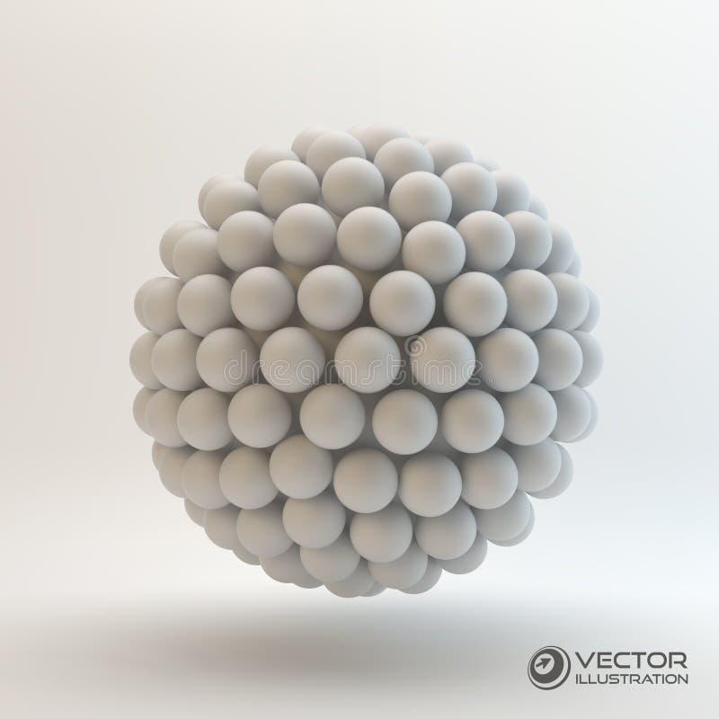 ilustração do conceito 3D ilustração do vetor