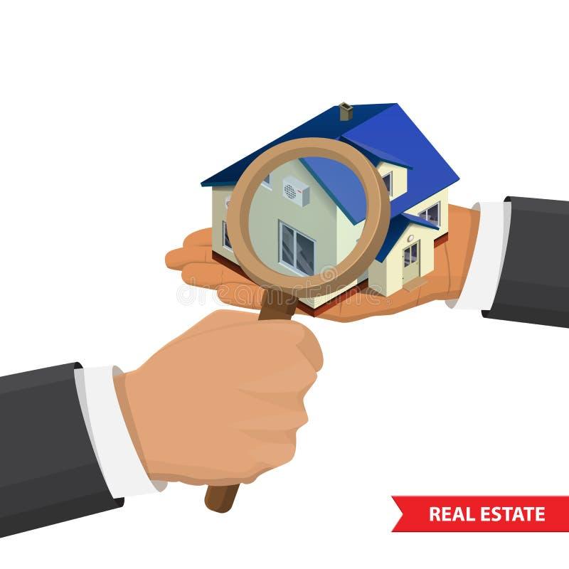 Ilustração do conceito de Real Estate ilustração do vetor