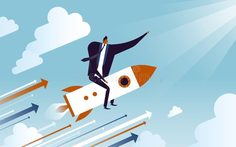 Ilustração do conceito do negócio ilustração stock