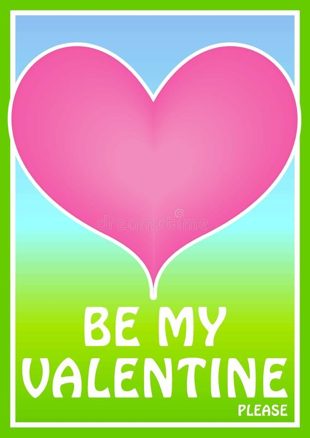Ilustração do coração dos Valentim ilustração do vetor