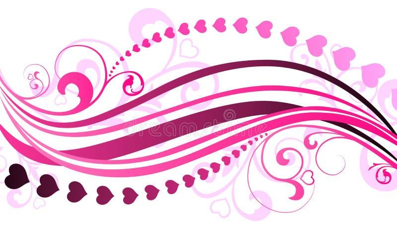 Ilustração do dia do Valentim do vetor ilustração stock