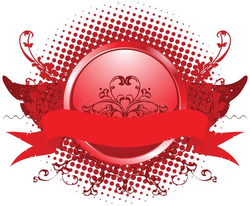 Ilustração do emblema ilustração stock