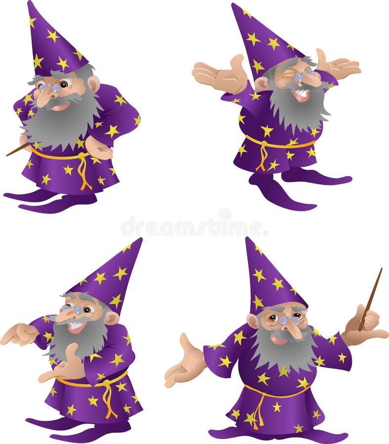 Ilustração do feiticeiro ilustração do vetor