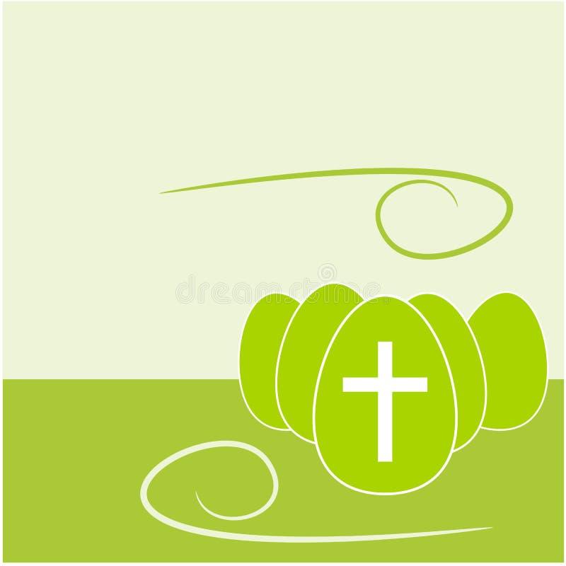 Ilustração do fundo do ovo da páscoa ilustração royalty free