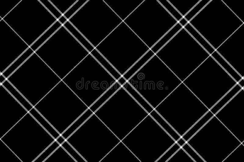 ilustração do fundo feito malha do teste padrão da tartã da manta foto de stock royalty free