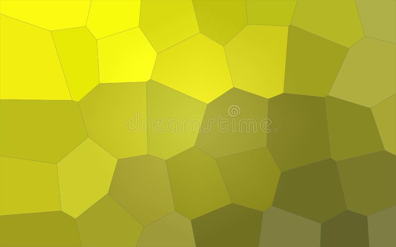 Ilustração do fundo gigante pastel amarelo e verde do limão - do hexágono ilustração do vetor