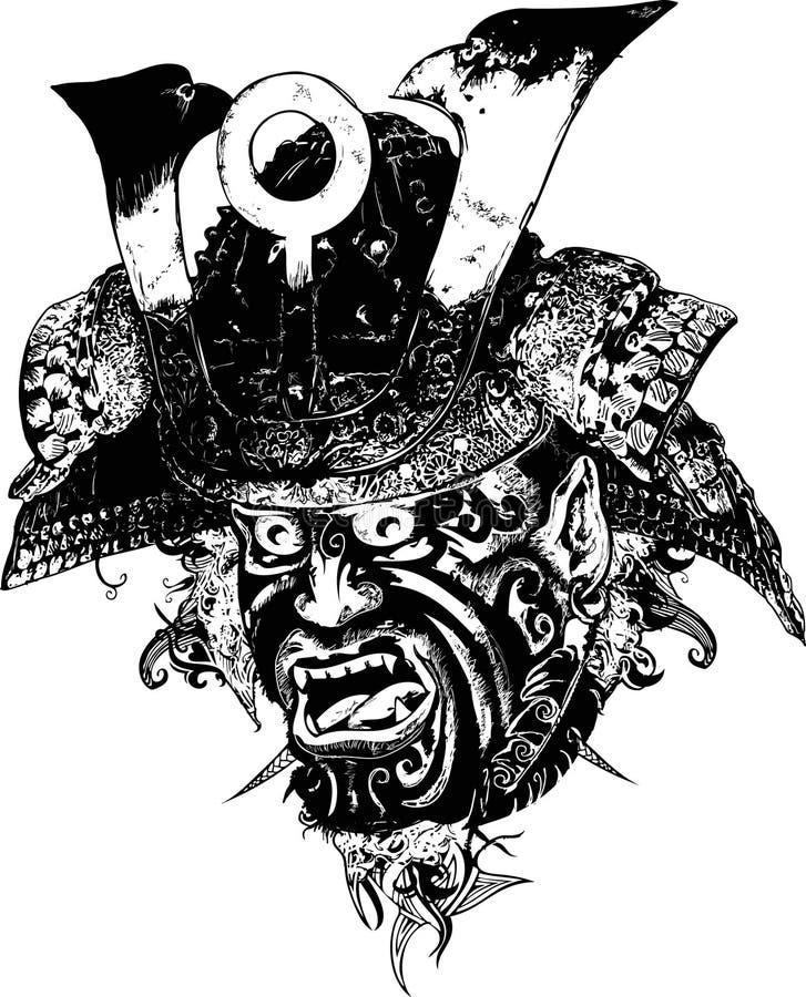 Download Ilustração Do Guerreiro Do Samurai Ilustração do Vetor - Ilustração de samurai, ilustração: 10053092