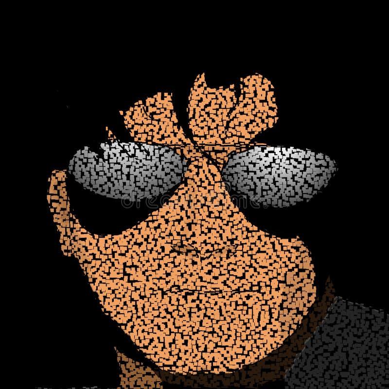 Ilustração do homem novo ilustração do vetor