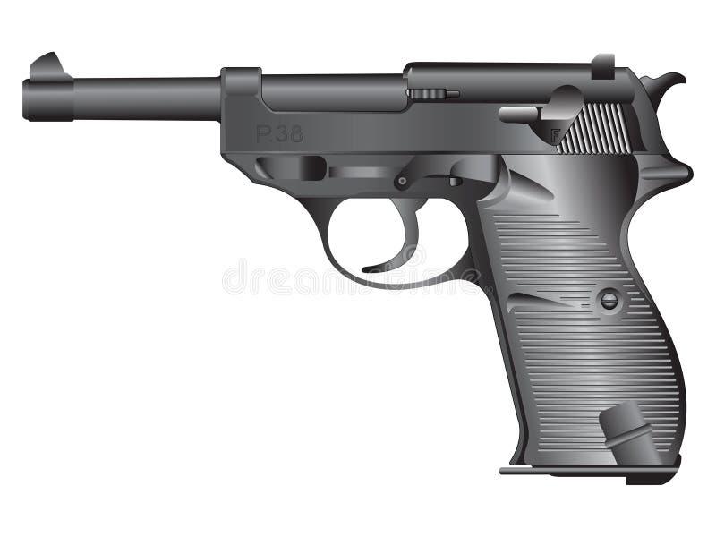 Ilustração da arma