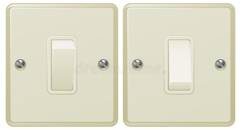 Ilustração do interruptor leve ilustração do vetor