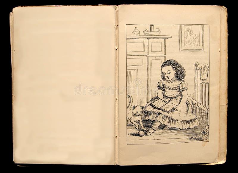 Ilustração do livro de crianças foto de stock royalty free