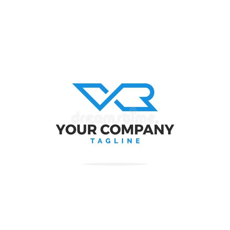 Ilustração do logotipo ilustração royalty free
