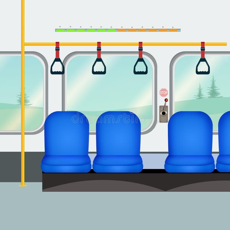 Ilustração do metro ilustração do vetor