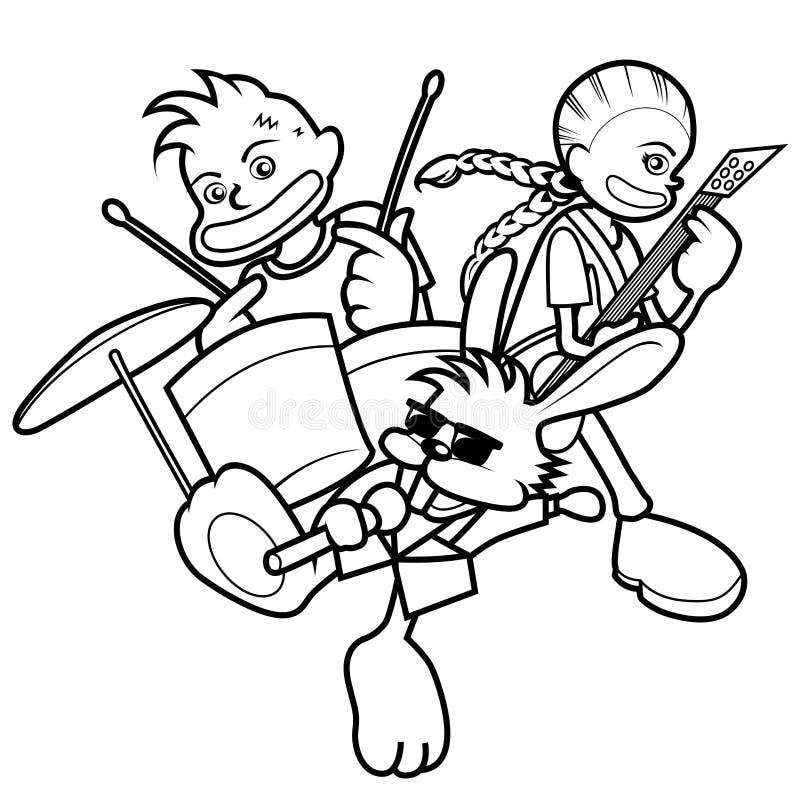 Ilustração do miúdo ilustração royalty free