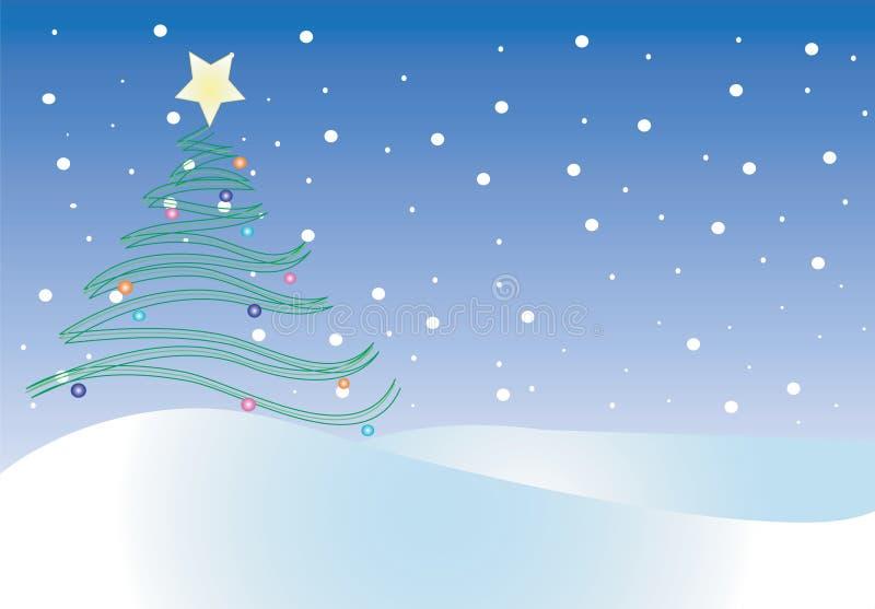 Ilustração do Natal ilustração royalty free
