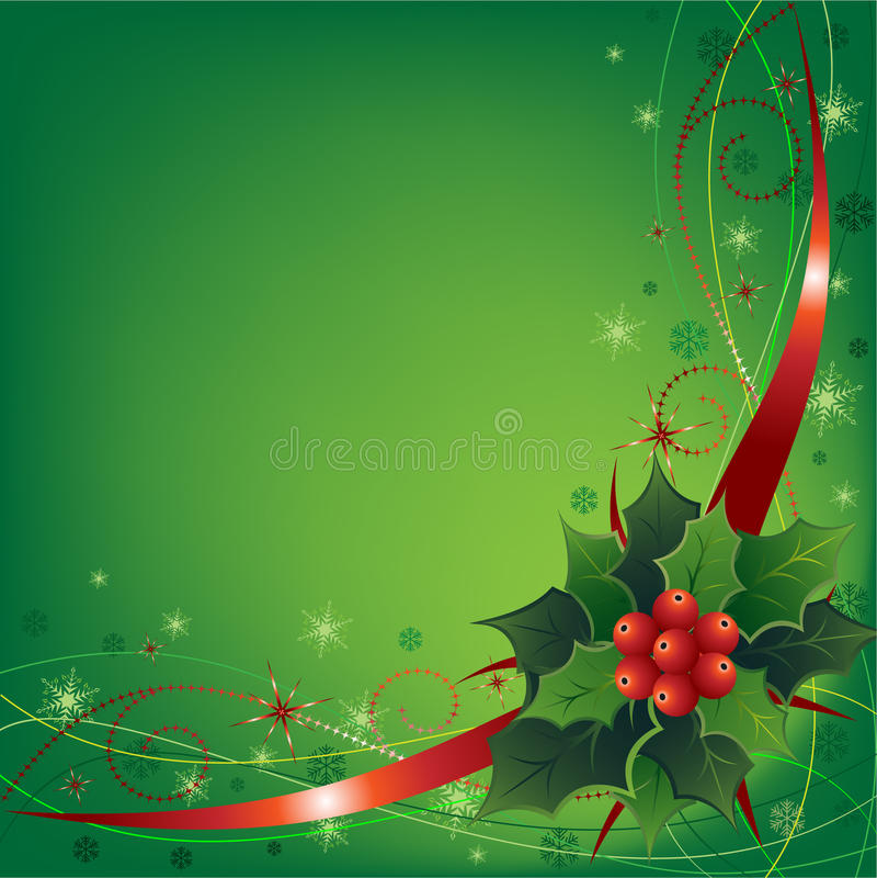 Ilustração do Natal ilustração do vetor