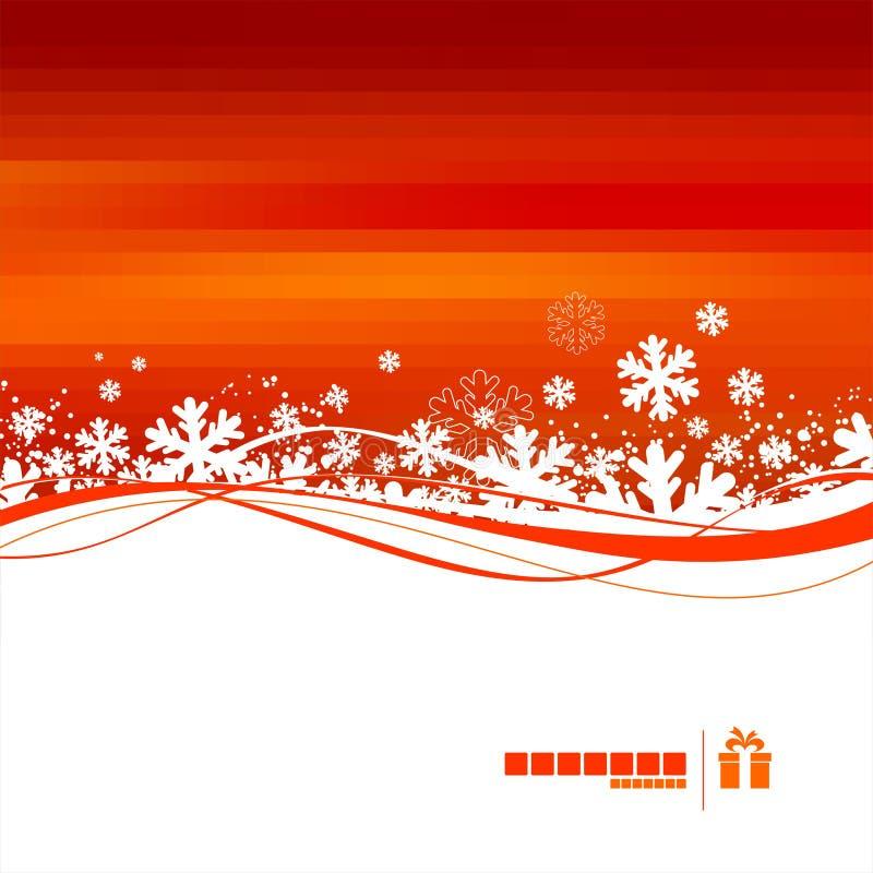 Ilustração do Natal ilustração stock
