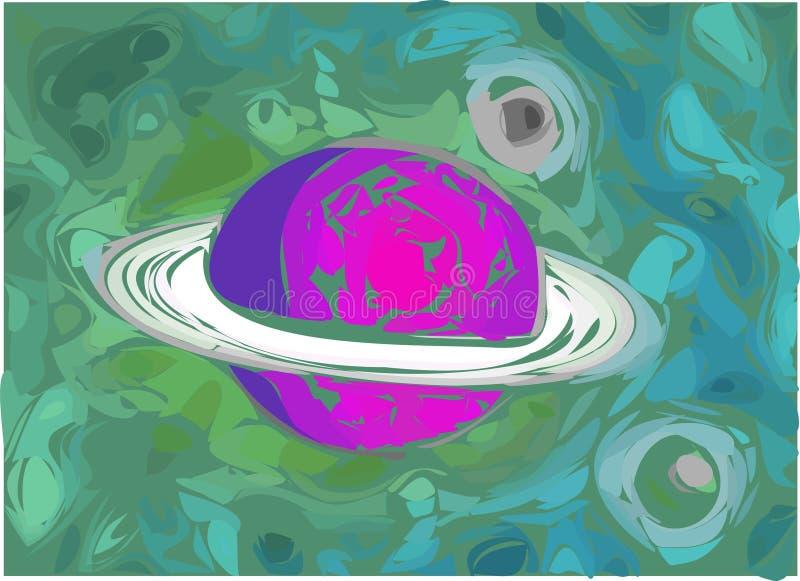 Ilustração do planeta ilustração do vetor