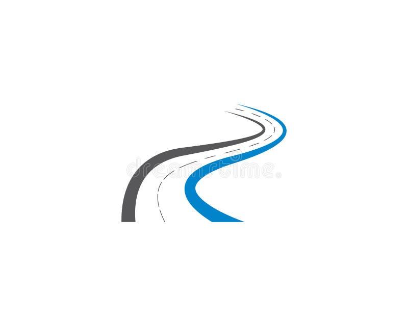 Ilustração do símbolo da estrada ilustração stock