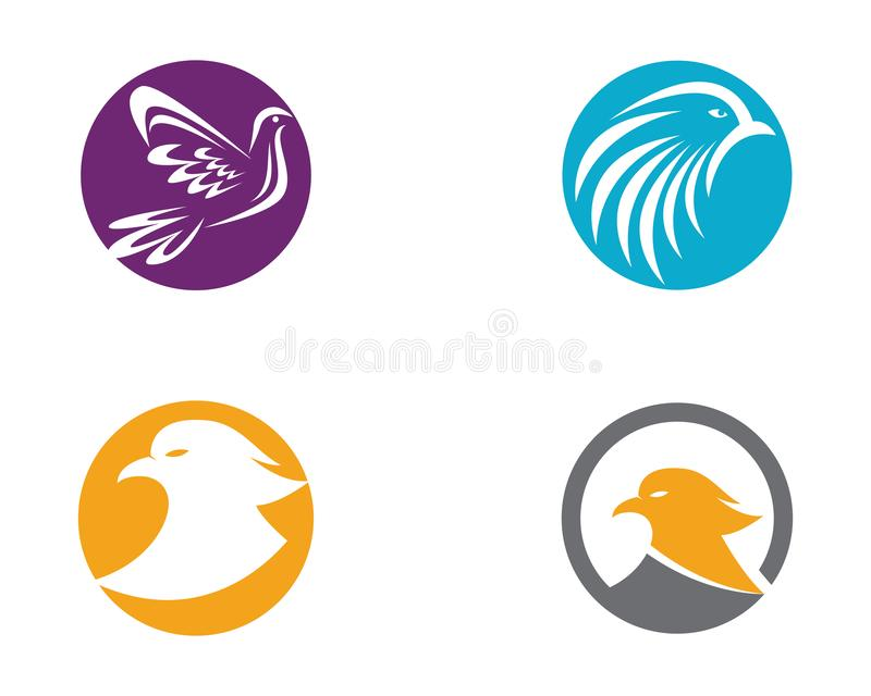 Ilustração do símbolo da pomba ilustração stock