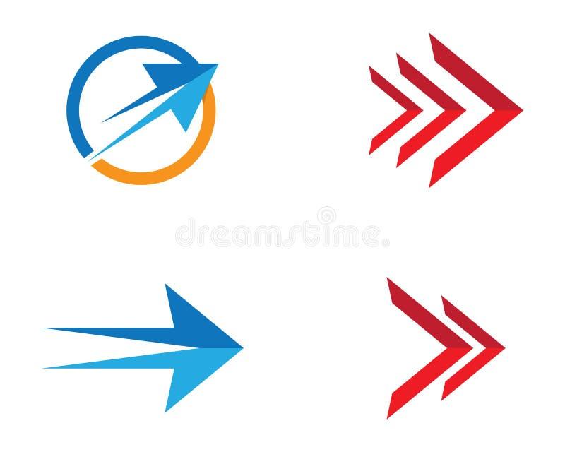 Ilustração do símbolo da seta ilustração royalty free