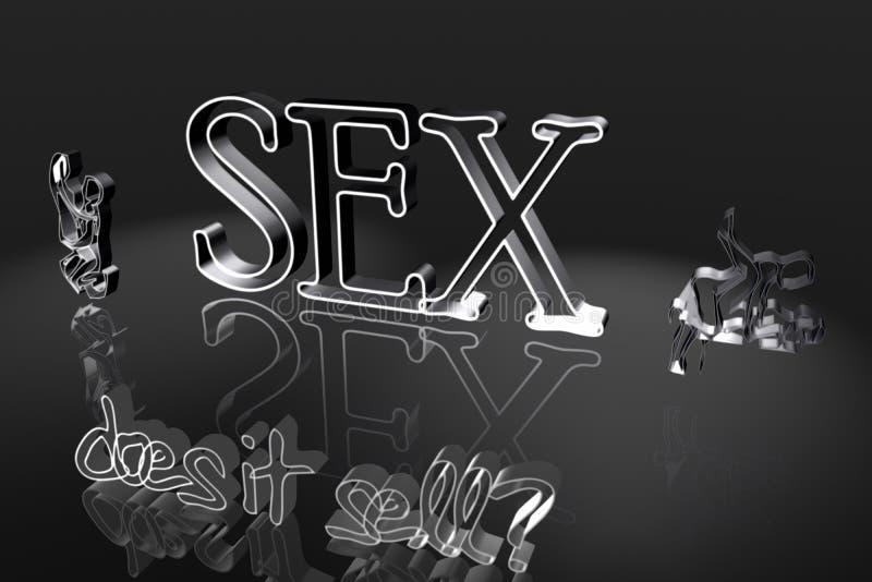 Ilustração do sexo ilustração stock
