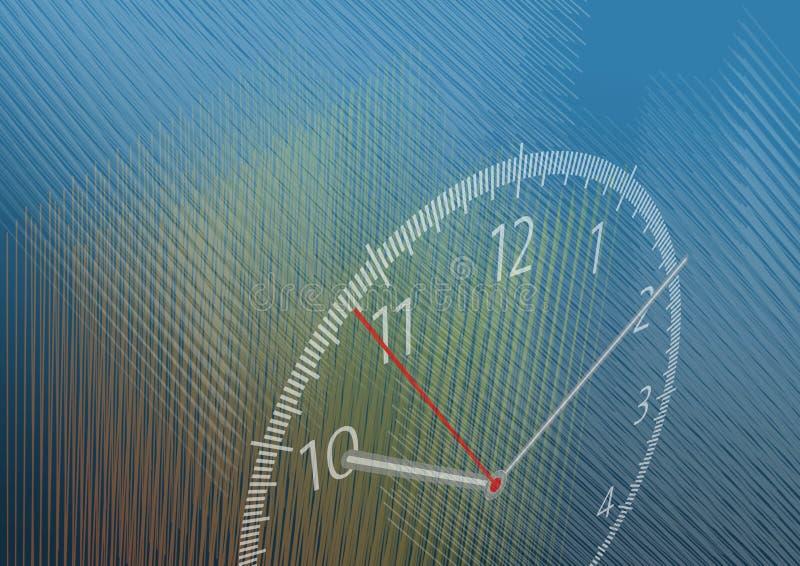 Ilustração do tempo ilustração stock