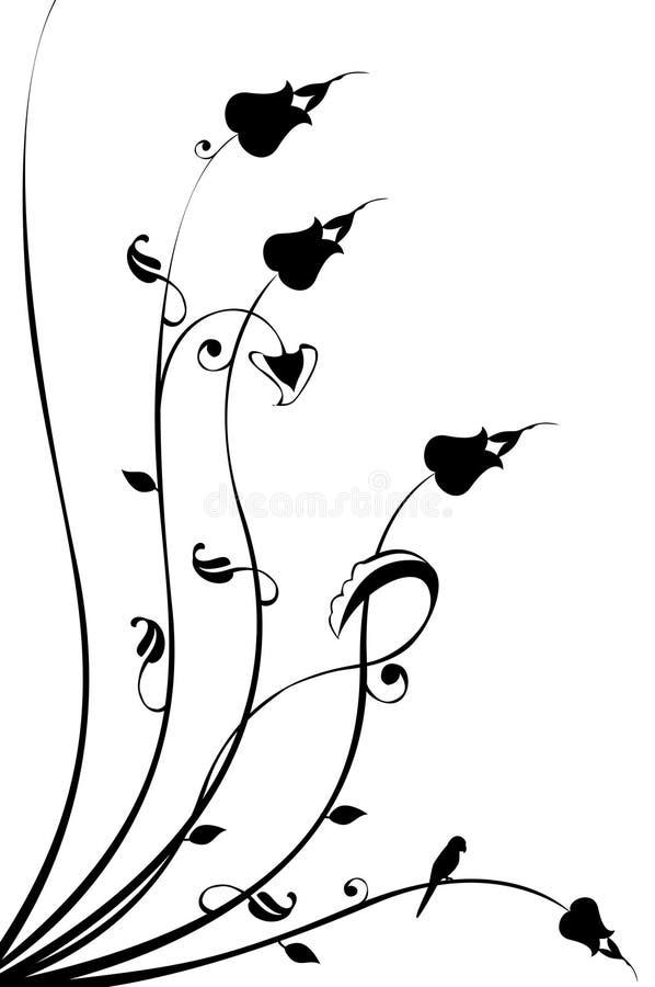 Ilustração do Tulip ilustração royalty free