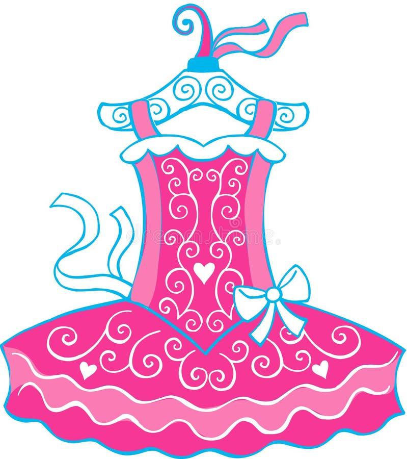 Ilustração do tutu do bailado ilustração do vetor