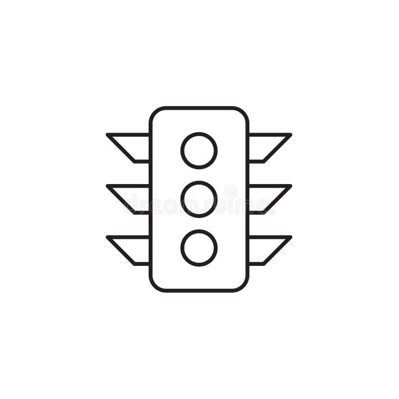 Ilustração do vetor do ícone dos sinais, EPS10 ilustração stock