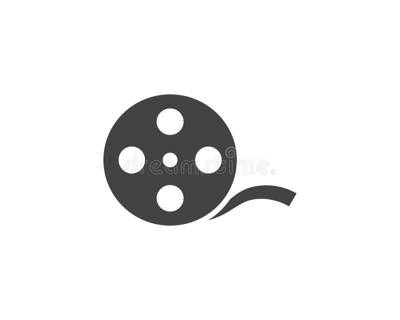 ilustração do vetor do ícone do filme abstrato ilustração do vetor