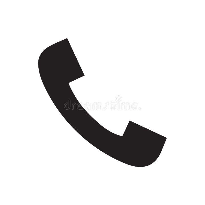 Ilustração do vetor do ícone do telefone Imagens livres dos direitos ilustração stock