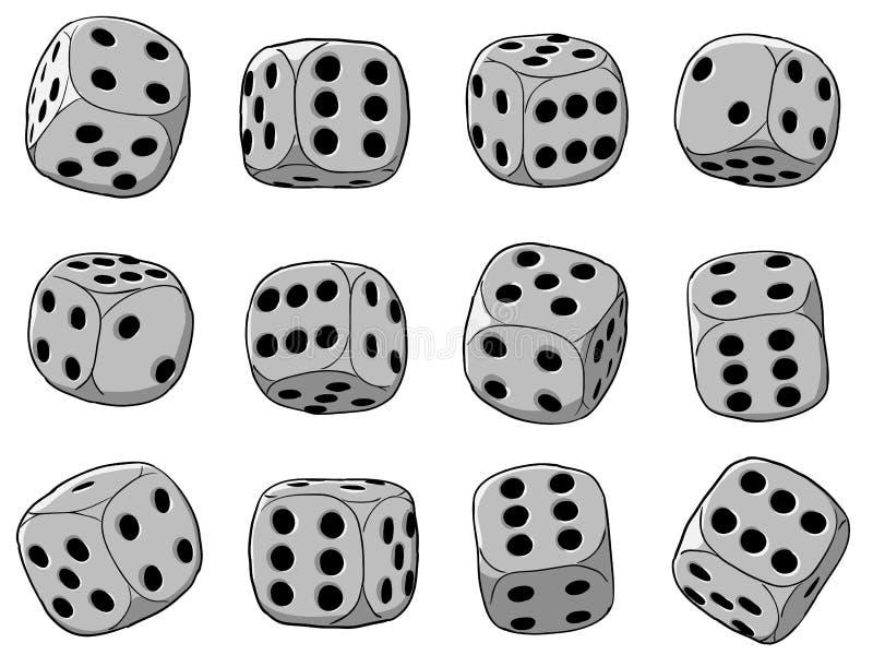 Ilustração do vetor - corta o jogo ilustração stock