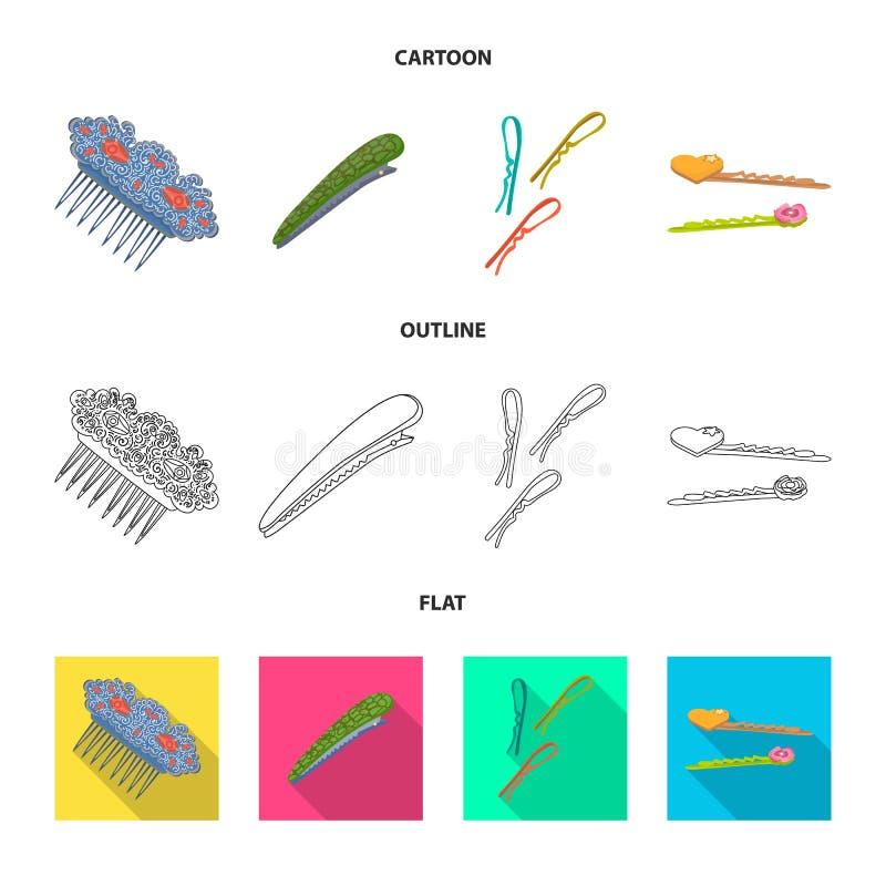 Ilustração do vetor da beleza e do ícone da forma Coleção da beleza e do símbolo de ações fêmea para a Web ilustração do vetor