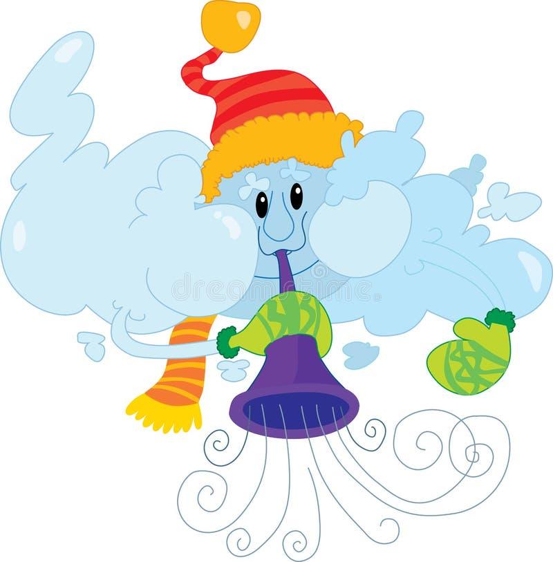 Download Nuvem do inverno ilustração do vetor. Ilustração de frosty - 29842981
