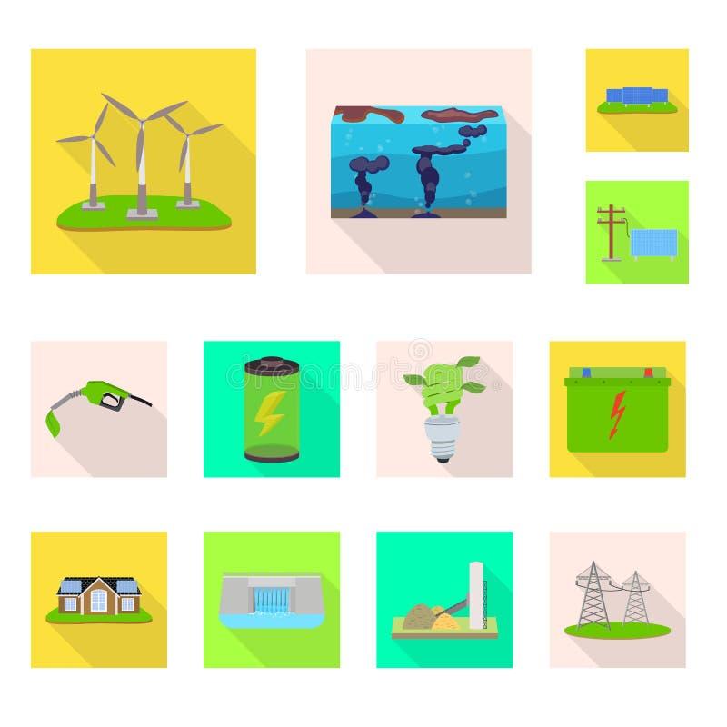 Ilustração do vetor da tecnologia e do logotipo orgânico Coleção da tecnologia e da ilustração conservada em estoque alternativa  ilustração stock