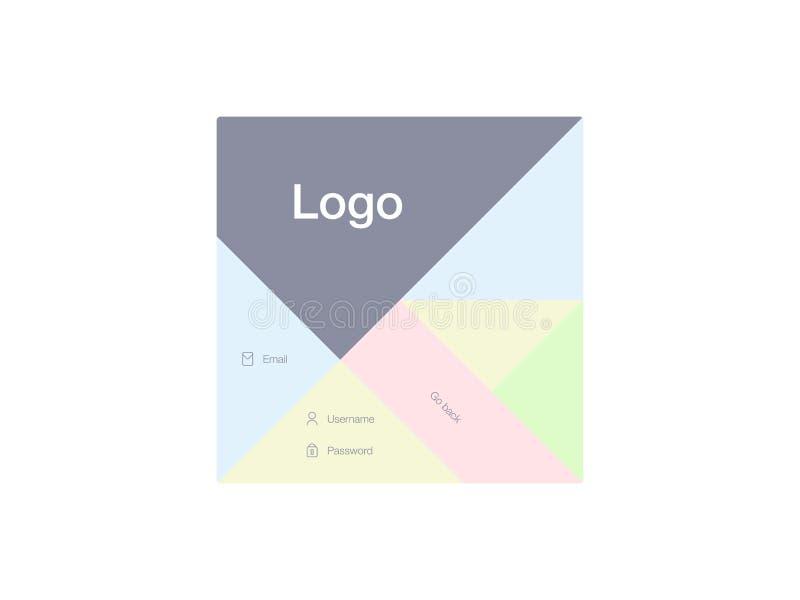 Ilustração do vetor das telas e do conceito da Web ilustração do vetor