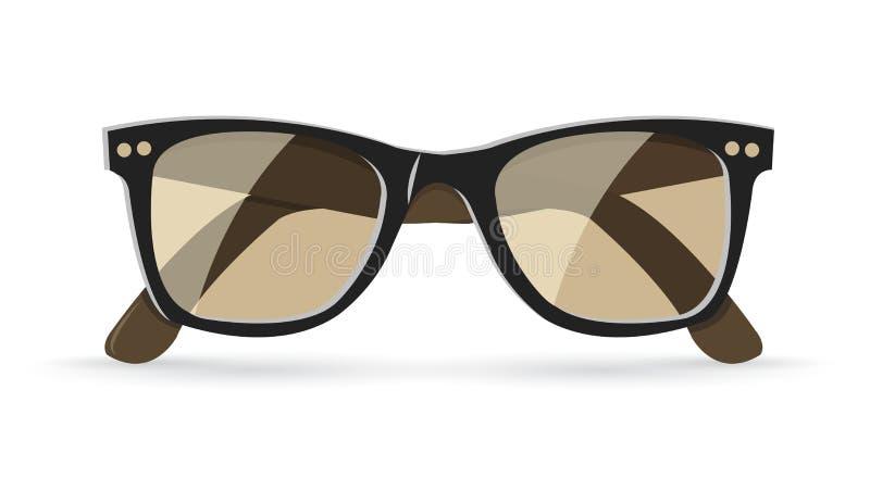 Ilustração do vetor de óculos de sol clássicos ilustração do vetor