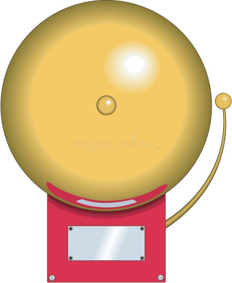 Ilustração do vetor de Bell de escola ilustração royalty free
