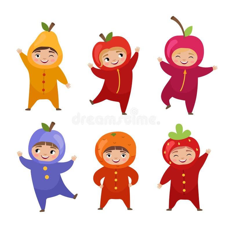 Ilustração do vetor de crianças bonitos ilustração royalty free
