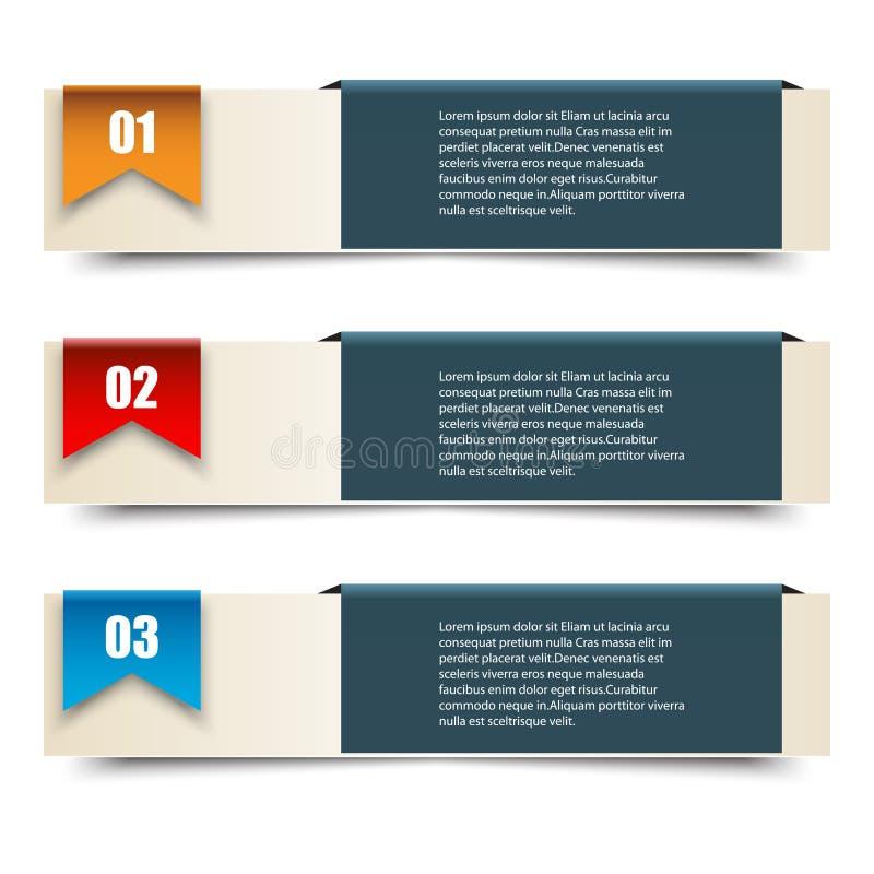 Ilustração do vetor de Infographics pode ser usado para a disposição dos trabalhos, bandeira, diagrama, opções do número, intensi ilustração do vetor