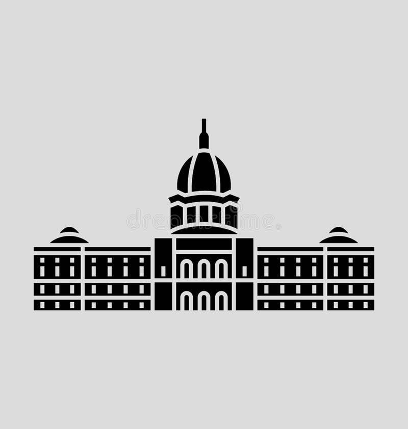 Ilustração do vetor de Minnesota ilustração stock