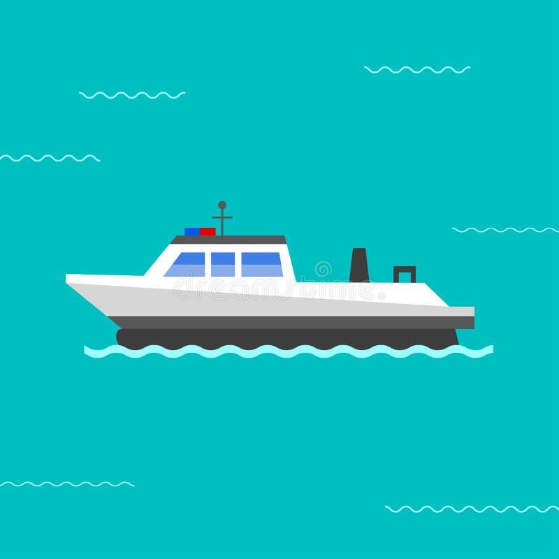 Ilustração do vetor do navio ilustração royalty free