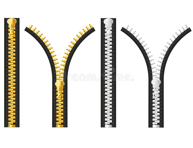 Ilustração do vetor do Zipper ilustração do vetor