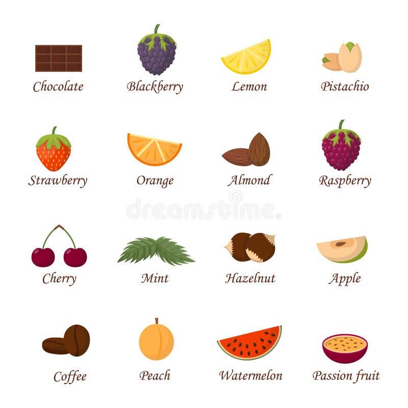 Ilustração do vetor dos frutos ilustração do vetor