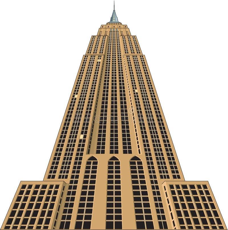 Ilustração do vetor do Empire State Building ilustração do vetor