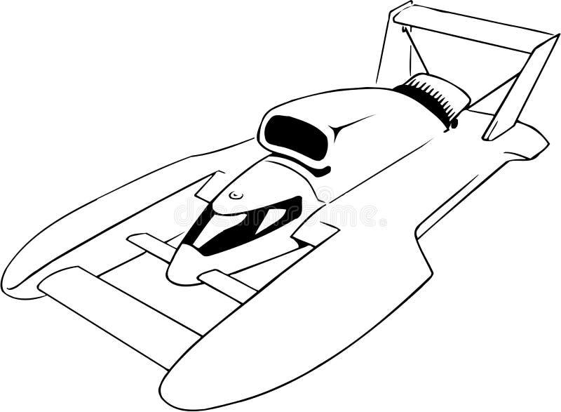 Ilustração do vetor do hidroavião ilustração do vetor