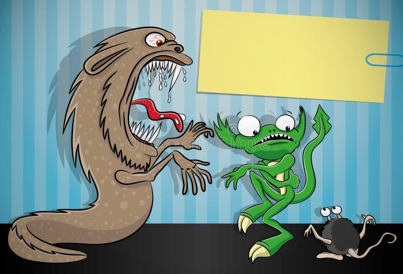 Ilustração do vetor monsters ilustração do vetor