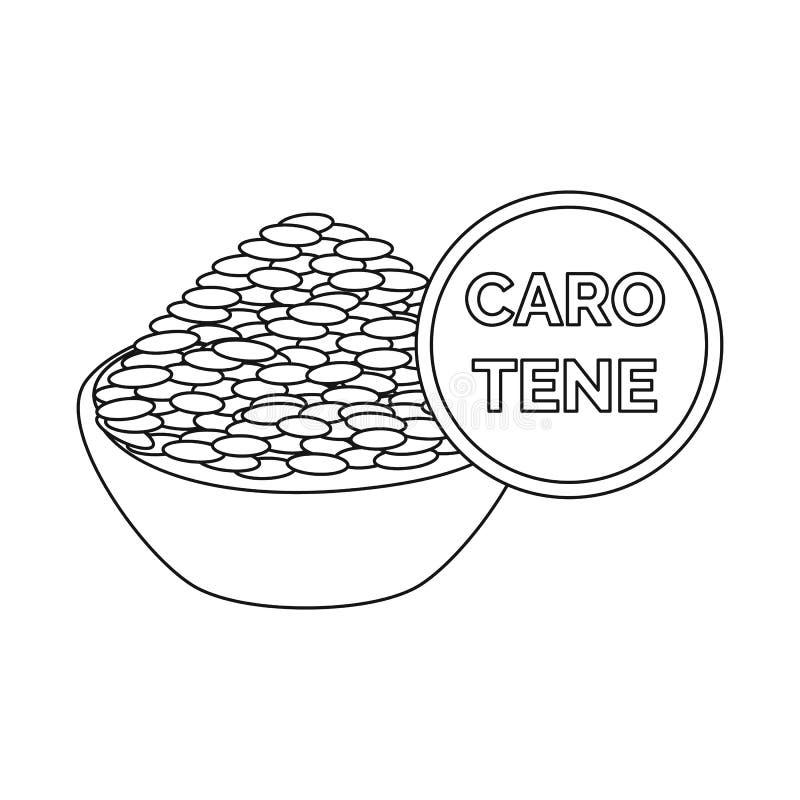 Ilustração do vetor do símbolo do arroz e do alimento Coleção do arroz e do símbolo de ações da agricultura para a Web ilustração do vetor