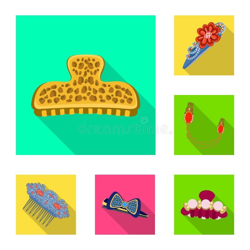 Ilustração do vetor do sinal da beleza e da forma Ajuste da beleza e do símbolo de ações fêmea para a Web ilustração stock